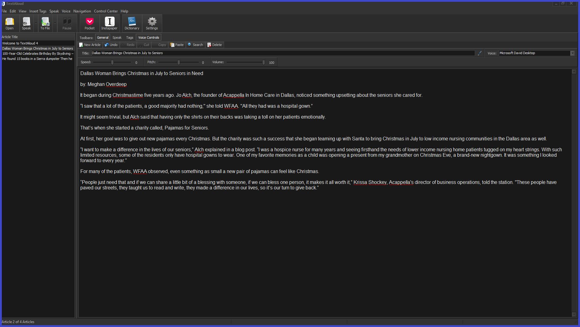 TextAloud 4 Screenshot 8