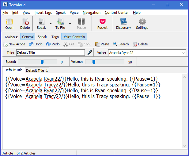 TextAloud 4 Screenshot 10