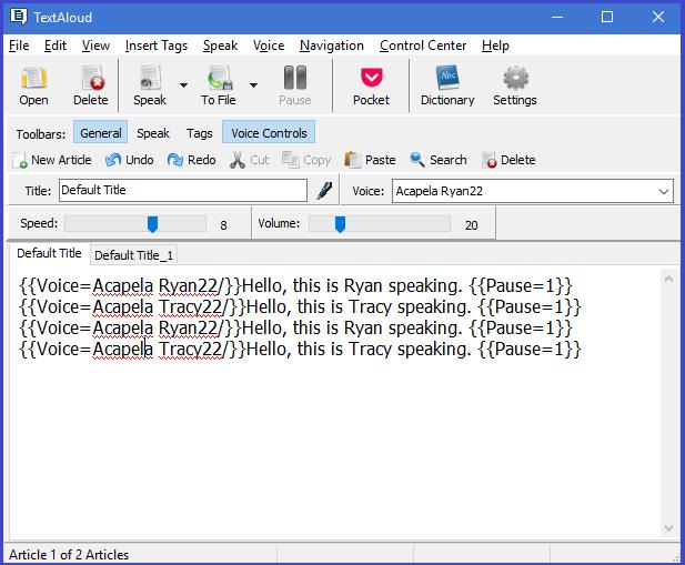 TextAloud 4 Screenshot 10