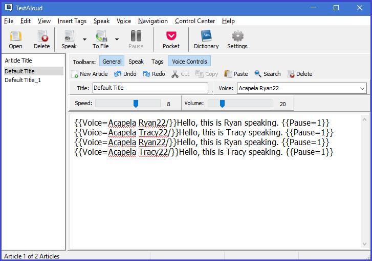 TextAloud 4 Screenshot 9