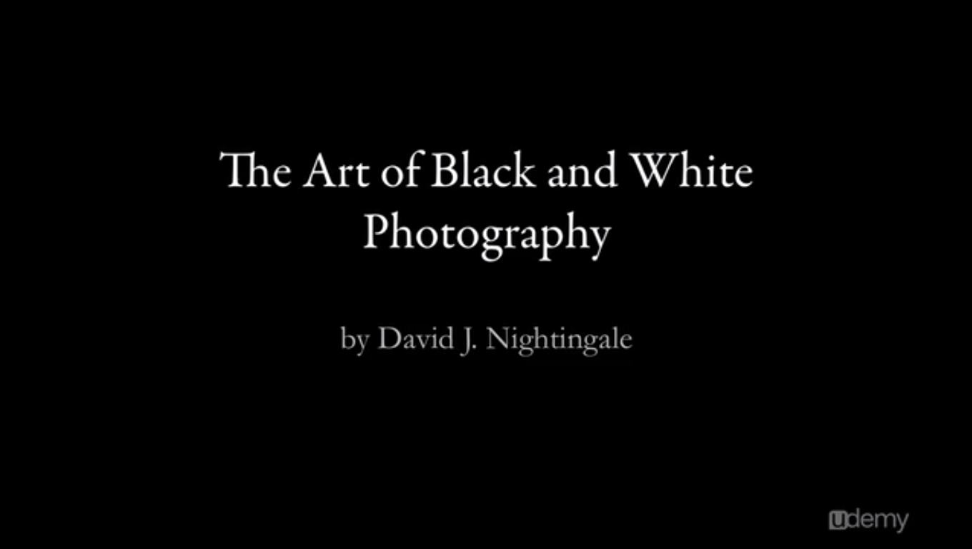 The Art of Black and White Photography Screenshot