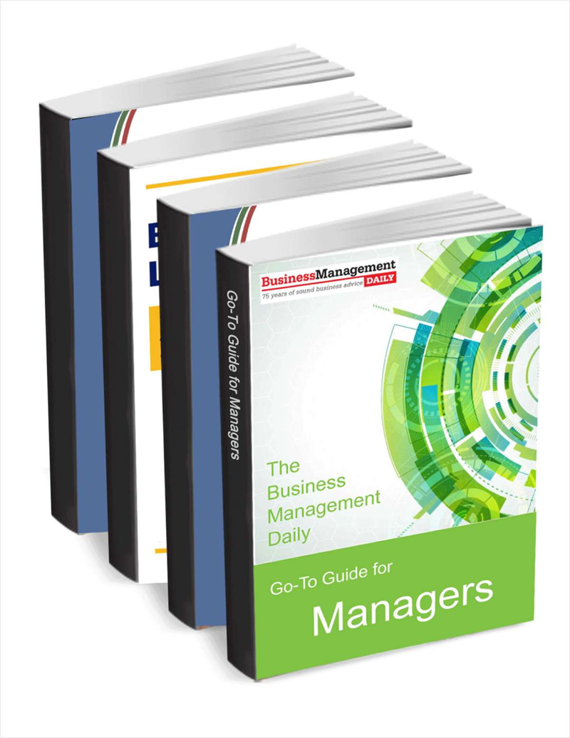 The Business Management Daily Go-To Guide for Managers Screenshot