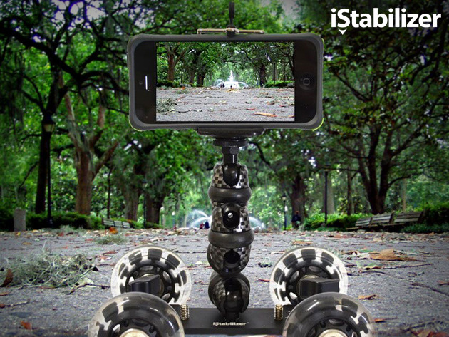 The iStabilizer Dolly: Easily Take Studio Quality Smartphone Video Screenshot