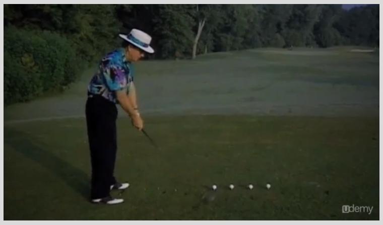 The Perfect Golf Swing, Hobby, Educational & Fun Software Screenshot