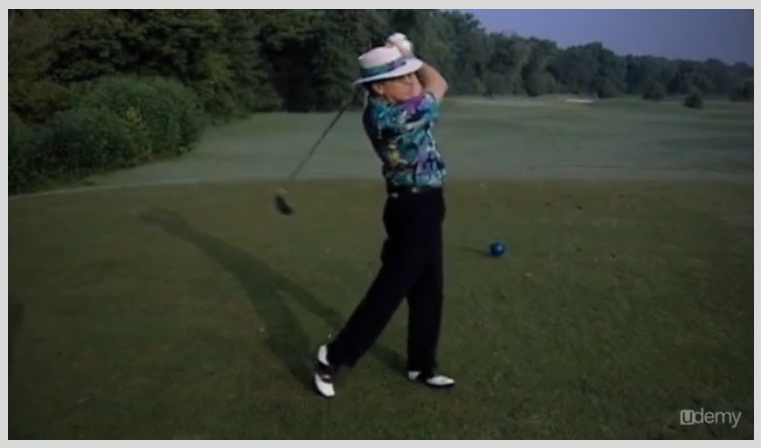 Learning and Courses Software, The Perfect Golf Swing Screenshot