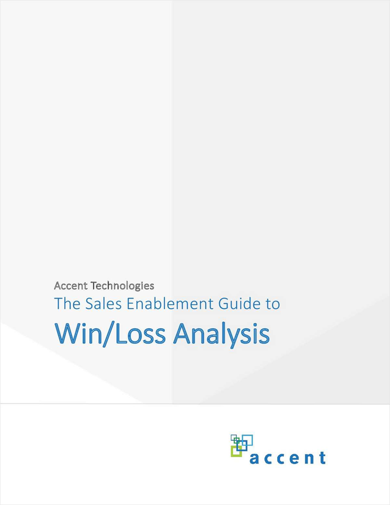 The Sales Enablement Guide to Win/Loss Analysis Screenshot