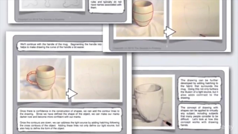 Hobby, Educational & Fun Software, The Secrets to Drawing Screenshot
