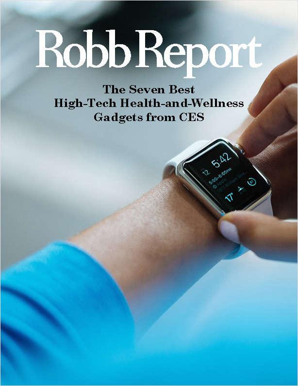 The Seven Best High-Tech Health-and-Wellness Gadgets from CES Screenshot