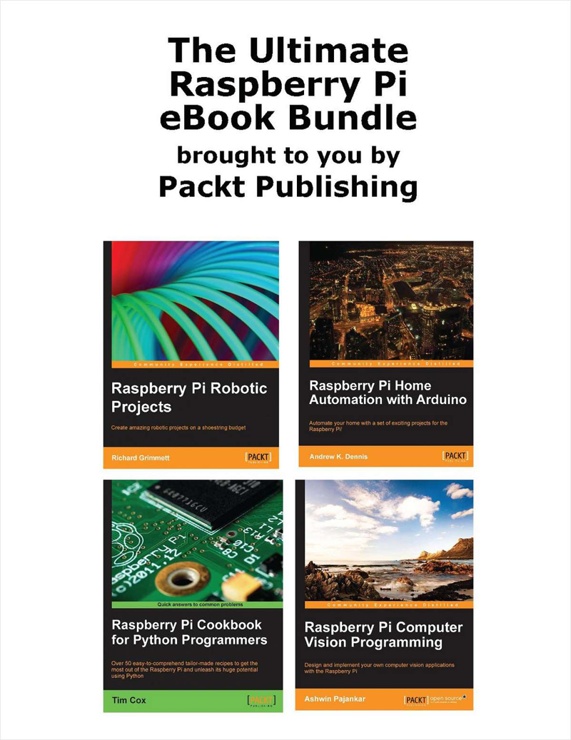 The Ultimate Raspberry Pi eBook Bundle (Over $90 Value) Screenshot