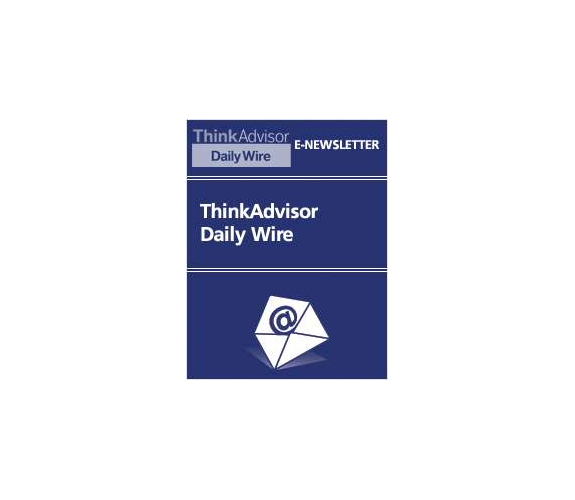 ThinkAdvisor Daily Wire Screenshot