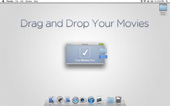 Thumbs, Video Misc Software Screenshot