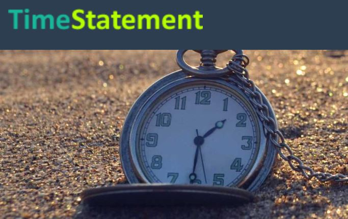 TimeStatement time tracking - For Paperless offices Screenshot