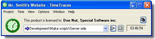 TimeTraces Screenshot