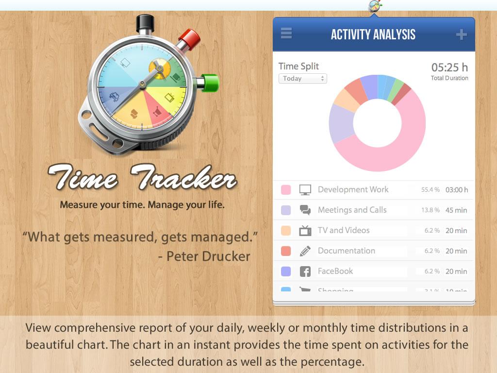 TimeTracker, Time Tracking Software Screenshot