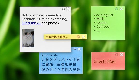 TK8 StickyNotes Pro Screenshot