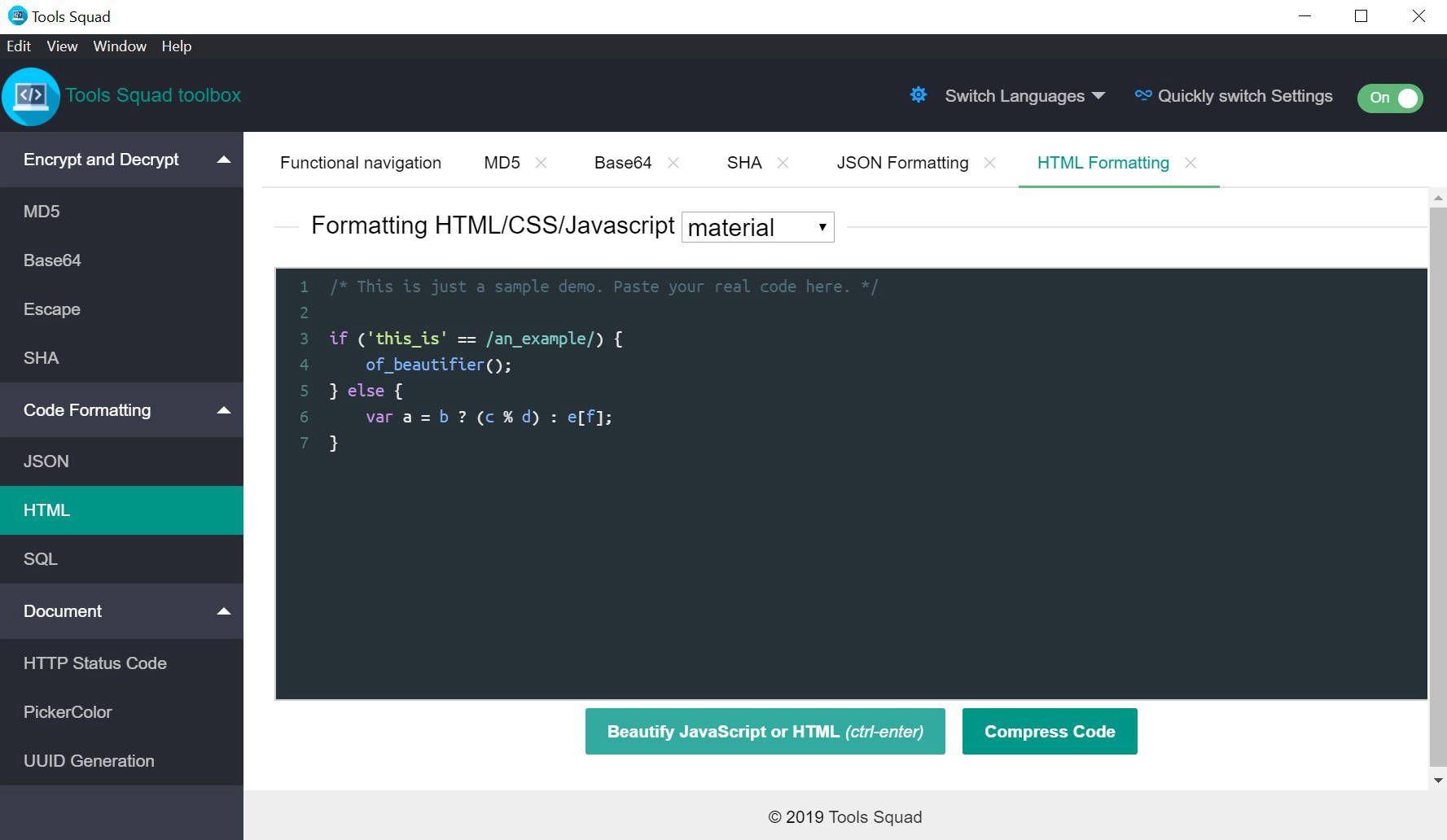 Development Software, Tools Squad - PRO Screenshot