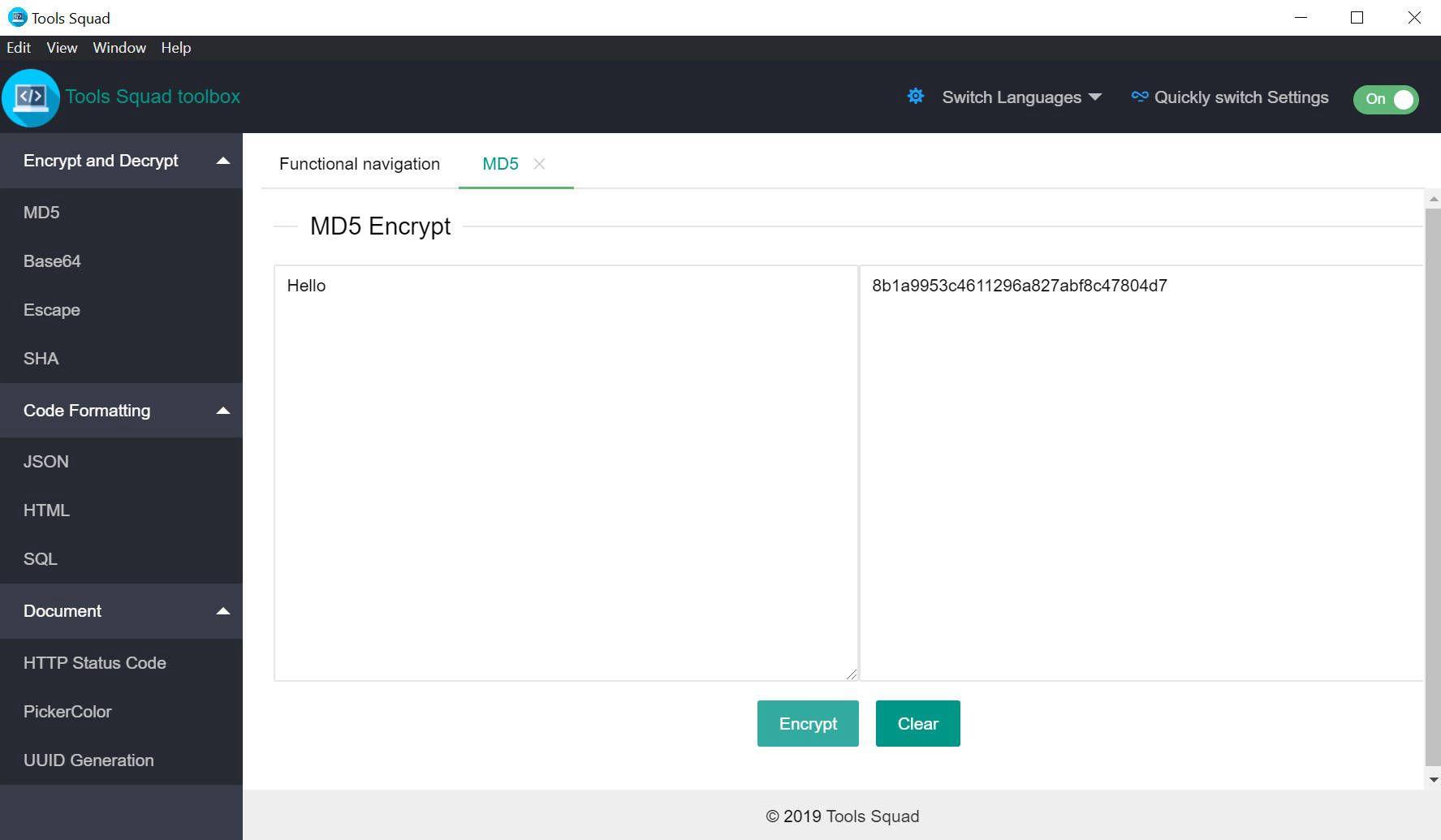 Development Tools Software, Tools Squad - PRO Screenshot