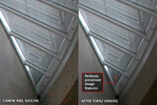 Topaz DeNoise, Photo Editing Software Screenshot