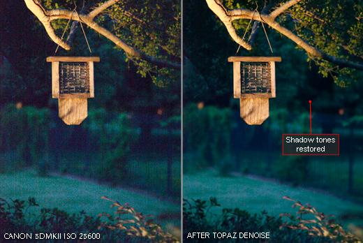 Design, Photo & Graphics Software, Topaz DeNoise Screenshot