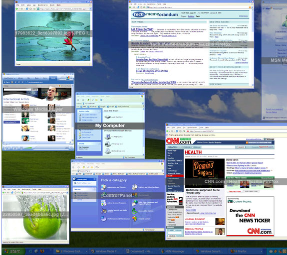 TopDesk, Task Manager Software Screenshot