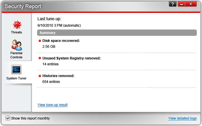 Security Software, Trend Micro Titanium Internet Security Screenshot