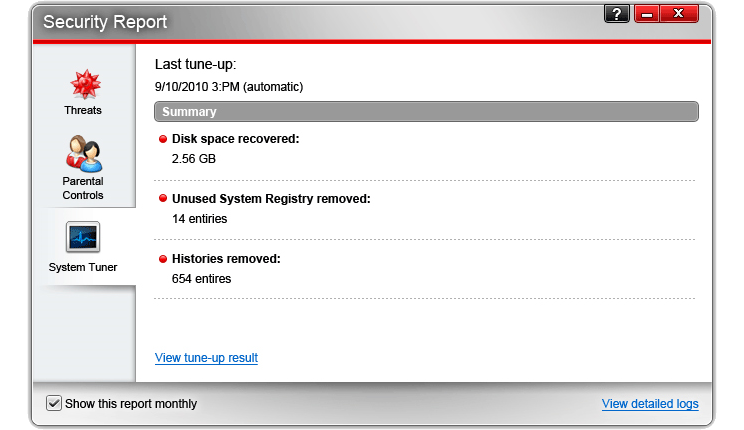 Trend Micro Titanium Maximum Security, Security Software, Antivirus Software Screenshot