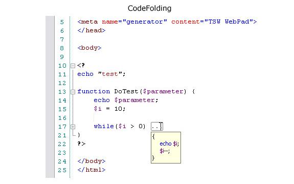 TSW WebPad.NET, Development Software Screenshot