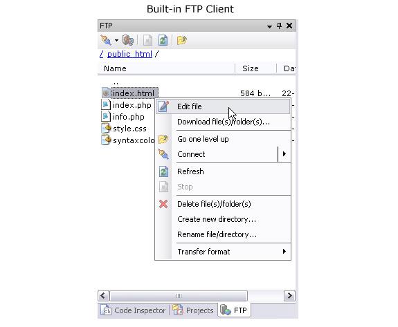 TSW WebPad.NET, HTML Editor Software Screenshot
