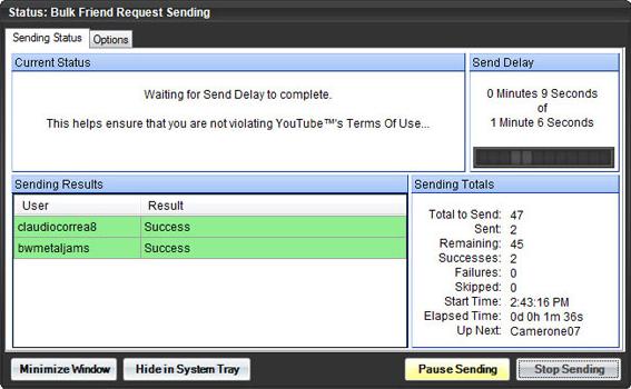 Tube Toolbox, Online Video Software Screenshot
