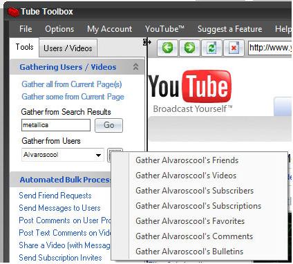 Tube Toolbox Screenshot