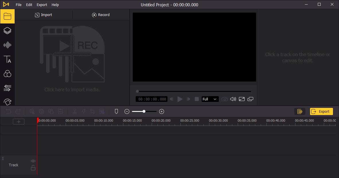 TunesKit AceMovi Video Editor Screenshot