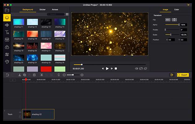 TunesKit AceMovi Video Editor, Video Editing Software Screenshot