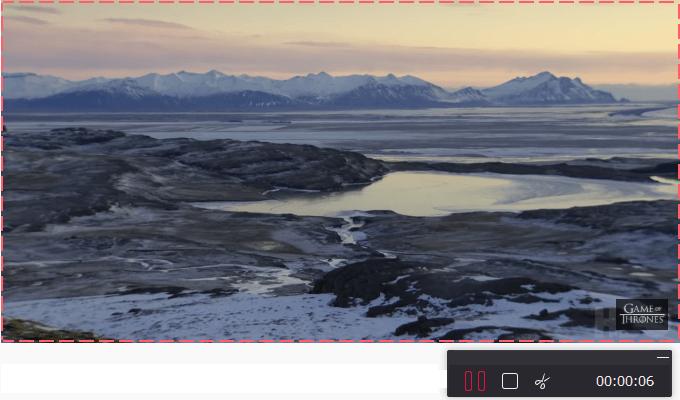 Video Capture Software, TunesKit Screen Recorder Screenshot