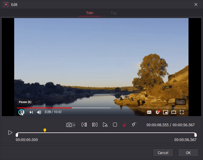Video Software, TunesKit Screen Recorder Screenshot
