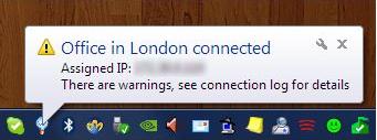 tunXten, Internet Software Screenshot
