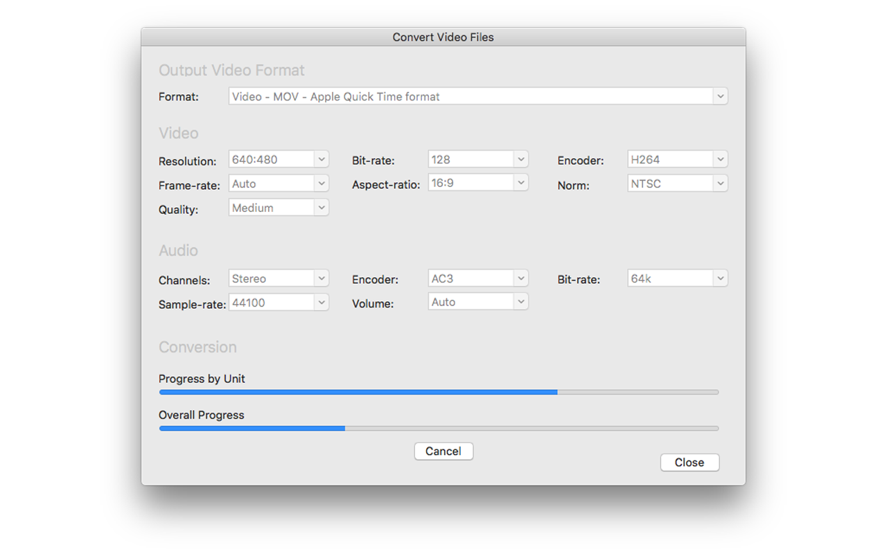 Video Converter Software, Turbo Video Converter Screenshot