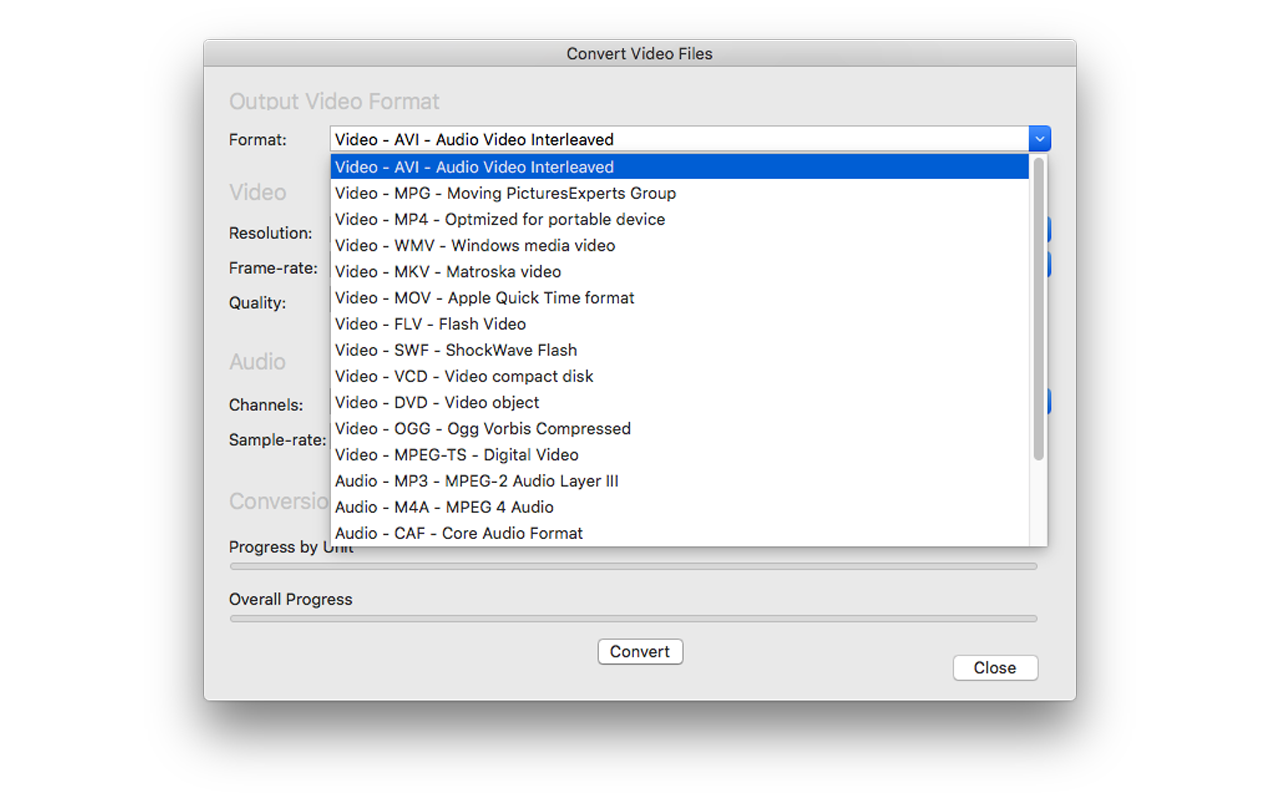 Turbo Video Converter, Video Converter Software Screenshot