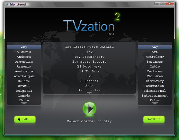 TVzation II Screenshot
