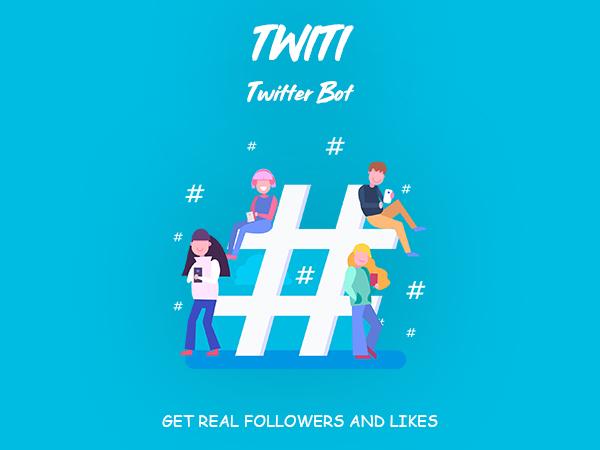 Twiti - Twitter Bot Screenshot