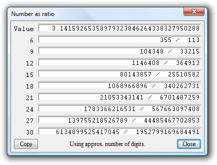 Calculator Software Screenshot