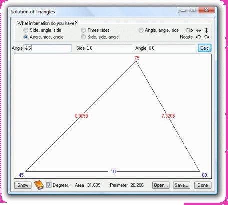 Productivity Software, UltimaCalc Professional v3 Screenshot
