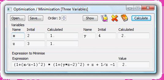 UltimaCalc Professional v3, Productivity Software Screenshot