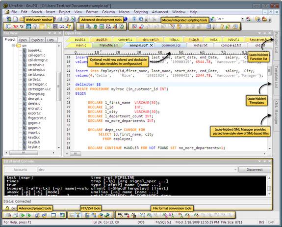 UltraEdit Bundle, HTML Editor Software Screenshot