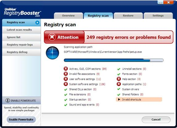 uniblue registry booster free download full version