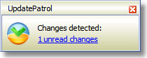 UpdatePatrol - Personal License, Web Research Software Screenshot
