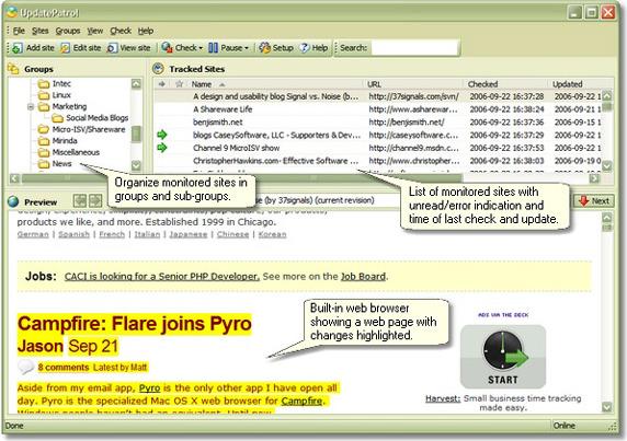 UpdatePatrol - Personal License Screenshot