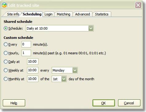 Web Research Software Screenshot