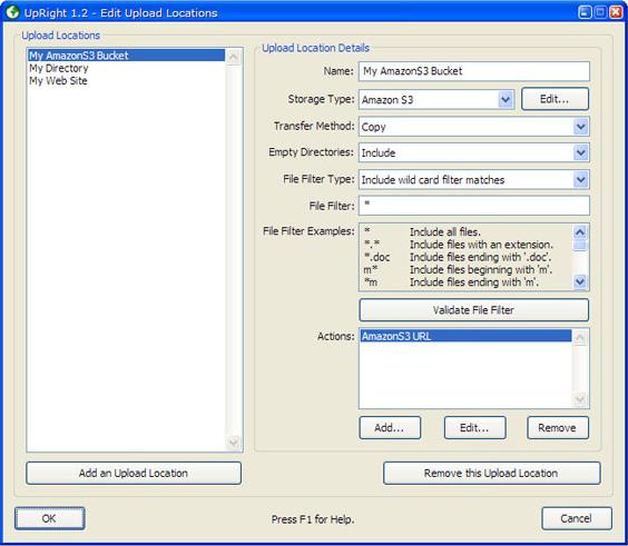FTP Software Screenshot