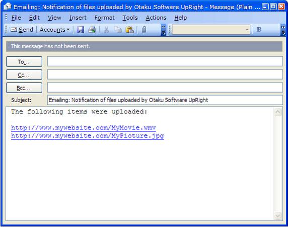 Internet Software, UpRight Screenshot