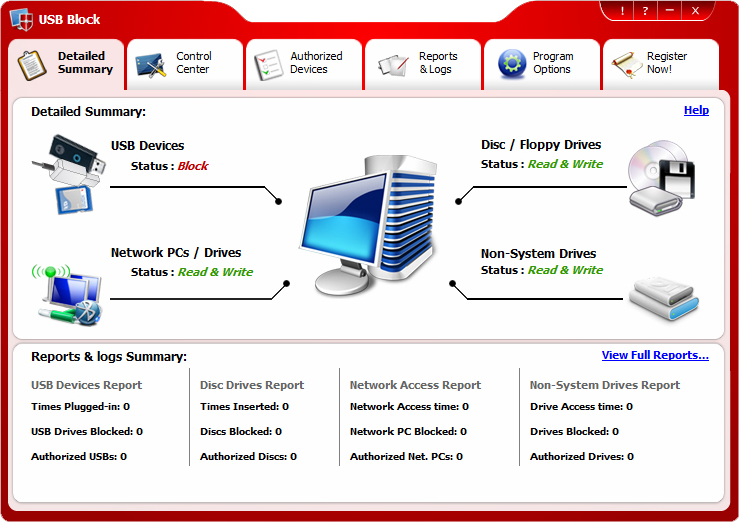 USB Block Screenshot